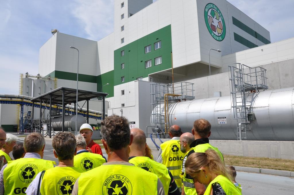15-16 czerwiec 2018 roku – Wizyta studyjna mieszkańców Tarnowa do spalarni w Koninie